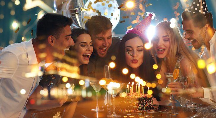 Organização de festas de aniversário